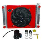 4 Port Aluminum Radiator Kit